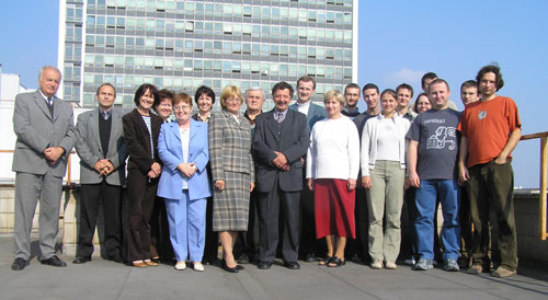 Department Staff (acad. year 2005/2006)