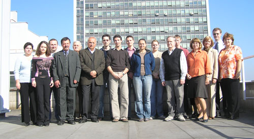 Department Staff (acad. year 2006/2007)
