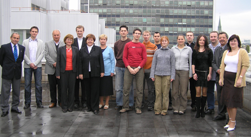 Department Staff (acad. year 2007/2008)