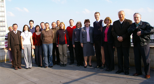 Department Staff (acad. year 2008/2009)