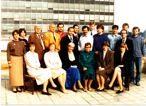 Department Staff (acad. year 1992/1993)